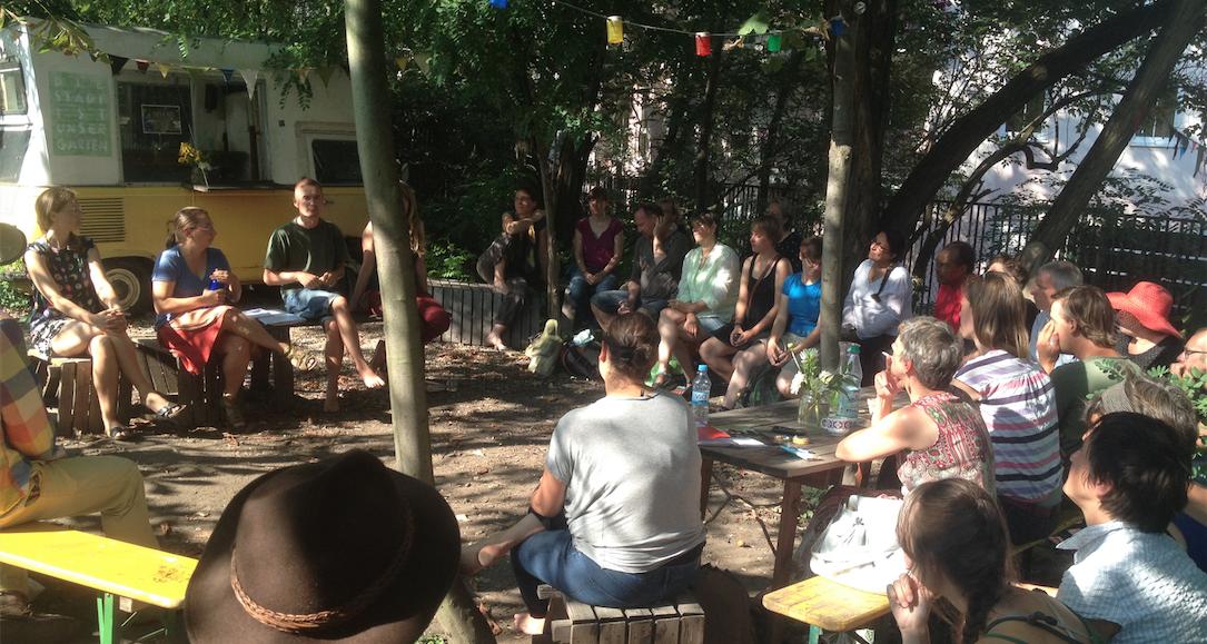 Urban Gardening Sommercamp 2015 in Leipzig