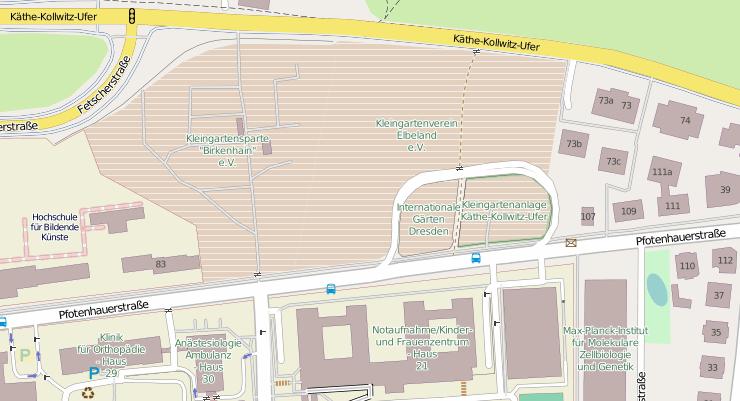 Internationale Gärten Dresden sollen einem Parkhaus weichen