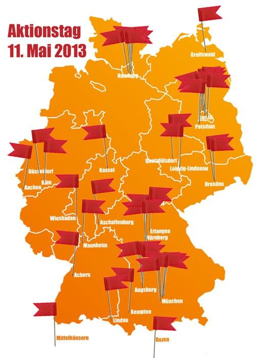 AKTIONStag des Verbundes offener Werkstätten 2013