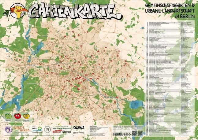 Berliner Gartenkarte! Online und als PVC-Plane für den Garten