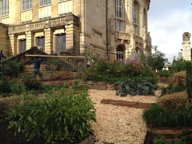 Theater entdecken urbane Gärten: Rasen war gestern